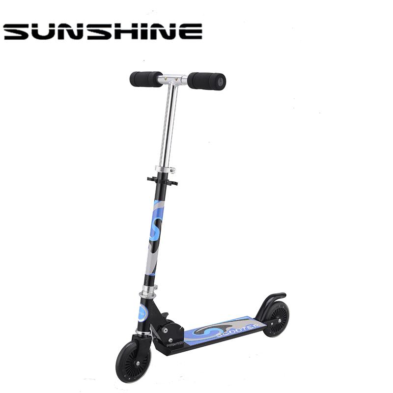 Adulti e ragazzini two wheel 205mm buona pedale scooter per adulti