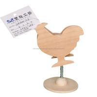 Lovely Animal Shape Wooden Name Card Holder