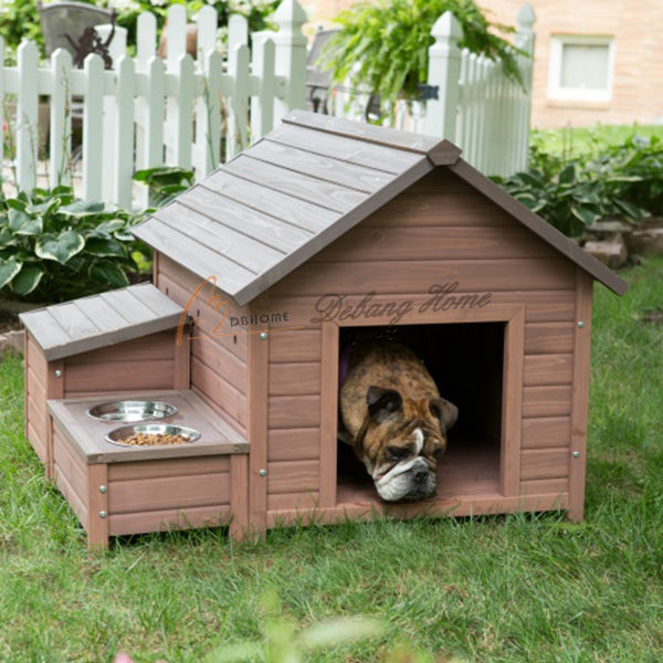 Top Quality Outdoor Alibaba Wholesale New Design Durable Wooden Pet House