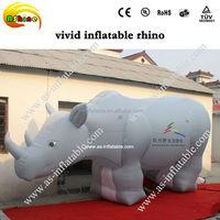 giant advertising inflatable animal model inflatable rhino