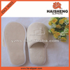 coral fleece Material and Home,Hotel Use hotel white coral fleece slipper