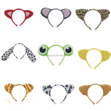 latest headband designs kids animal ear headband rabbit ear hair band QHBD-1791