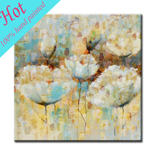 Wholesale handmade oil painting picture flower for wall cecor