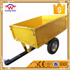 Metal 2 Wheels Dumping Box Trailer