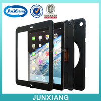 Armor hybrid ruggection combo case cover with kickstand for ipad wholesale