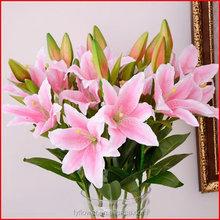Economic most popular artificial lily home decor