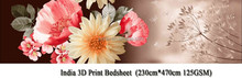 american indian 3d print bedsheet fabrics for wholesale