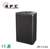 "SP-115A 15"" 400 watt active PA/DJ/Concert Speaker, DSP Amplifier, stage monitor, install"