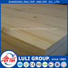 edge glued solid pine wood board from china luli manufacture