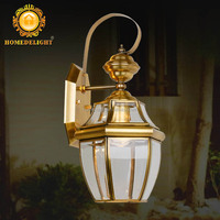 Brass outdoor wall lamp Copper lamp,Gardon Wall lamp BW-0023M