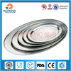 bulk multi size indian stainless steel dish/ Stainless Steel Food Dishes /fruit plate
