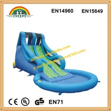 High quality giant/ big inflatable water slide for kids and adults