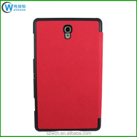 Smart Cover Hard Back Leather Flip Case for Samsung Galaxy Tab S 8.4
