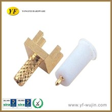 Brass with Pom Pin Connectors to RJ45 Straight for Audio & Video Connector/ TV Antenna Connector