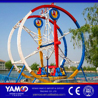 Hot on alibaba fairground equipment ferris ring car rides/amusement park games for sale