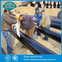 0.5mm thickness wrapping materials for underground pipes(pipe wrap tape) for pipeline
