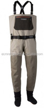 Custom Breathable Fly Fishing Waterproof Waders with Stockingfoot