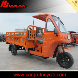 Semi-cabin 150cc three wheel motorcycle for cargo
