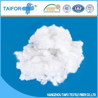 High quality recycled and virgin poly fill 4-hole fiber