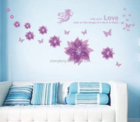(N649) [S] fairy wall sticker