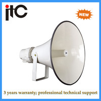 Newest products professional outdoor waterproof 100w high power horn speaker