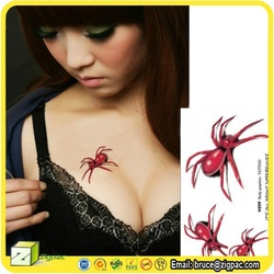 VS001538,pvc adhesive hang sticker,spider sticker