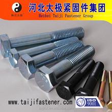 high strength low price m10 hex head bolt 8.8