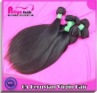 Delicate & cheap remy hair straight peruvian virgin hair weave