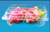 disposable PET tray fruit tray clamshell blister packaging for fruit