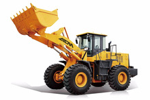 Hot 5 tons wheel loader with Shanghai diesel engine and ZF WG200 transmission for Sale