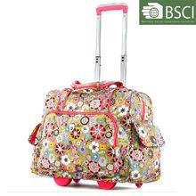 Women travel trolley bag