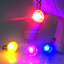 Pet Dog Flasher Blinker LED Light tags Red/Blue/White Safety Collar pet id tag for dogs SJDT-01