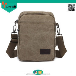 2015 new arrival handsome blank contracted portable preppy teenage strong canvas shoulder bag men for vintage nice design