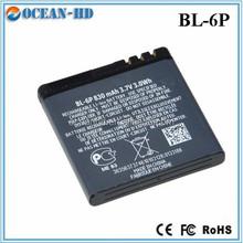 li-ion battery 3.7v 1000mah bl-6p for nokia 6500 7900