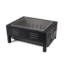 Small size Jpnese style free standing Metal BBQ