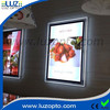 ultra thin led display,large crystal frames,led crystal light box frame