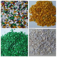 Automatic color sorting machine for ABS plastic scraps