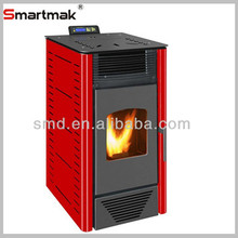 2015 year Factory sale electric Pellet Stove 8KW with CE certifications