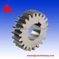 China factory grey iron sand casting part for gear hobbing machine