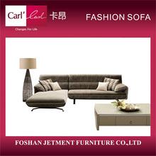 China manufacturer discount fashion large fabric sofa