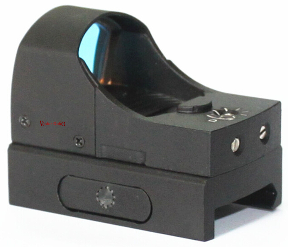 "Vector Optics Sphinx 1x22 Auto Light Sense Micro Red Dot Sight 48mm 1.9"" Length"