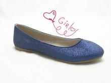 new model fashion glitter women flat shoes