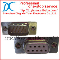 D-sub Connector Male Female 9 15 25 26 37 44 50 62 68 78 Pin 2 Row 3 Row Solder CUP IDC Right Angle (R/A)