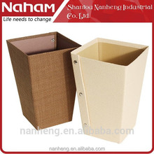 NAHAM House/Office Organizer Weave Paper Folding Trash Can