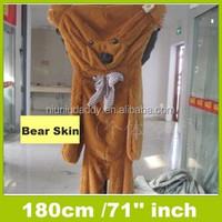 Niuniudaddy Semi-finished Plush bear 180cm plush toy skin