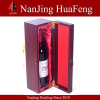 2014 China Hot Sell high end luxury wooden wine boxes with sliding lid