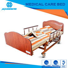 Chinese electric hospital bed with side rails for complete care of bedridden patients