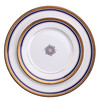 Dishes & Plates Dinnerware Type and Eco-Friendly Feature plastic gold charger plate