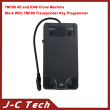 2015 High Quality Latest Version Auto Key Programmer TM100 4D and ID46 Clone Machine with fastshipping