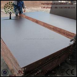 18mm Film Faced Plywood For Middle East Market, Concrete slab Marine Plywood WBP GLUE
